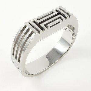 Tory Burch Fitbit Bracelet Bangle Cuff Silver